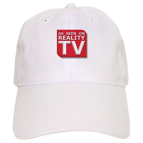 Funny As Seen on Reality TV Logo Cap