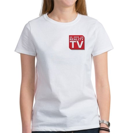 Funny As Seen on Reality TV Logo Women's T-Shirt