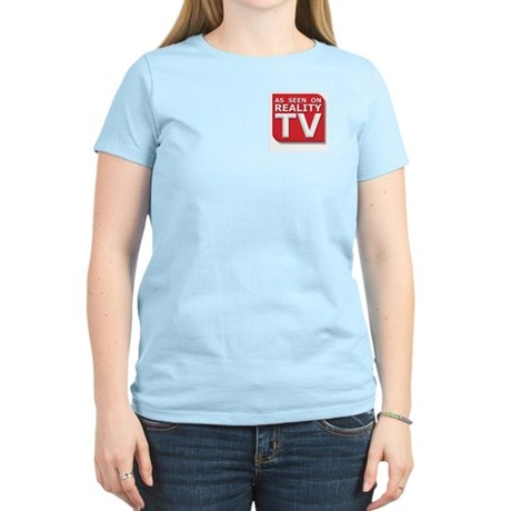 Funny As Seen on Reality TV Logo Women's Light T-S