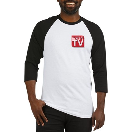 Funny As Seen on Reality TV Logo Baseball Jersey