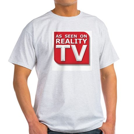 Funny As Seen on Reality TV Logo Light T-Shirt