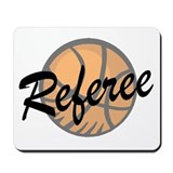 Basketball Referee Mousepad