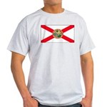 Florida Sunshine State Flag Ash Grey T-Shirt