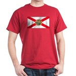 Florida Sunshine State Flag Red T-Shirt