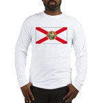 Florida Sunshine State Flag Long Sleeve T-Shirt