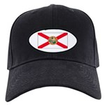 Florida Sunshine State Flag Black Cap