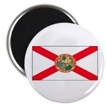 Florida Sunshine State Flag Magnet