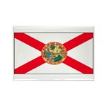 Florida Sunshine State Flag Rectangle Magnet (100