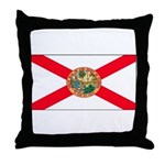 Florida Sunshine State Flag Throw Pillow