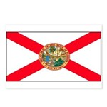 Florida Sunshine State Flag Postcards (Package of