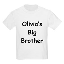 Olivia's Big Brother Kids T-Shirt