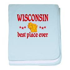 Wisconsin Best baby blanket