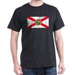 Florida Sunshine State Flag Black T-Shirt