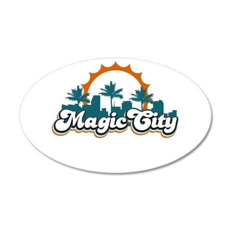 Magic City Wall Decal