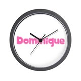 """Dominique"" Wall Clock"