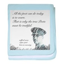 Wilfred Owen - All the poet can do today baby blan