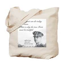Wilfred Owen - All the poet can do today Tote Bag