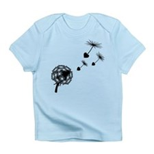 Dandelion Heart Seeds Infant T-Shirt