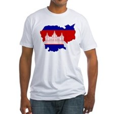 Cambodia Map Flag Shirt