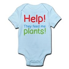 Help! My parents feed plants to me! Body Suit