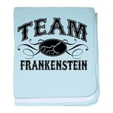 Team Frankenstein baby blanket