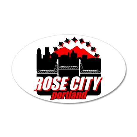 Rose City Wall Decal