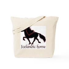 Cute Icelandic horse Tote Bag
