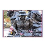 Vietnam Womens Memorial 3 Postcards (Package of 8)