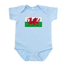 Wales Flag Onesie
