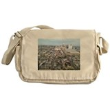 buildings and landscape Messenger Bag