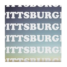 pittsburgh Tile Coaster