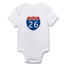 Interstate 26 - SC Infant Bodysuit