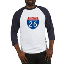 Interstate 26 - SC Baseball Jersey