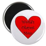 World's Okayest Mom Magnet