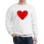 World's Okayest Mom Sweatshirt