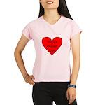 World's Okayest Mom Peformance Dry T-Shirt