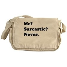 Sarcastic Messenger Bag