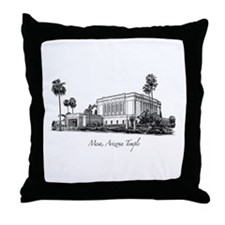 Mesa, Arizona Temple Throw Pillow