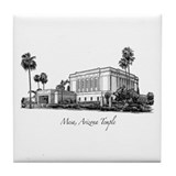 Mesa, Arizona Temple Tile Coaster