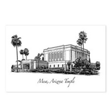 Mesa, Arizona Temple Postcards (Package of 8)