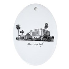 Mesa, Arizona Temple Oval Ornament