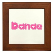"""Danae"" Framed Tile"
