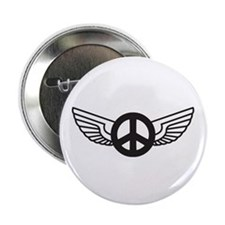 Peace Wing Original Button