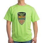 Santa Fe Police Green T-Shirt