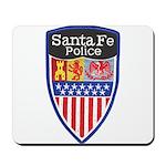 Santa Fe Police Mousepad