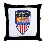 Santa Fe Police Throw Pillow