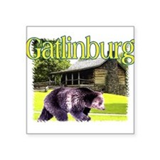 Gatlinburg Bear Rectangle Sticker