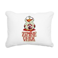 Zombie-Chick.png Rectangular Canvas Pillow