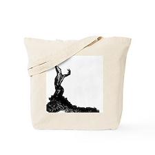 Flamenco dancer bata Tote Bag