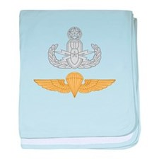 Master EOD Parachutist baby blanket